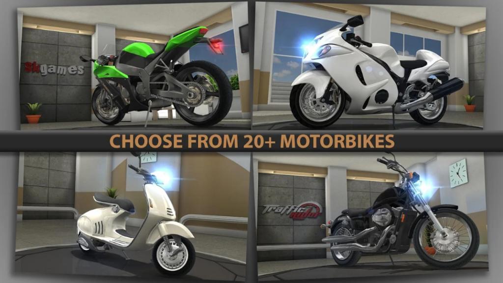 Traffic Rider mod app