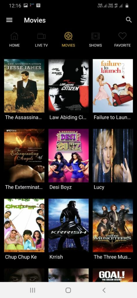 PlayStar TV App