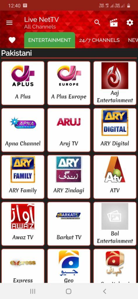 Live Net TV apk 2020
