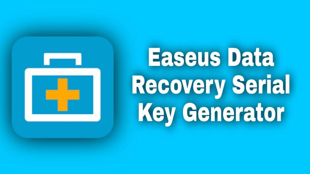 EaseUS Data Recovery Key