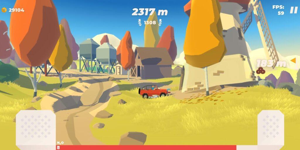 Hill Climb app