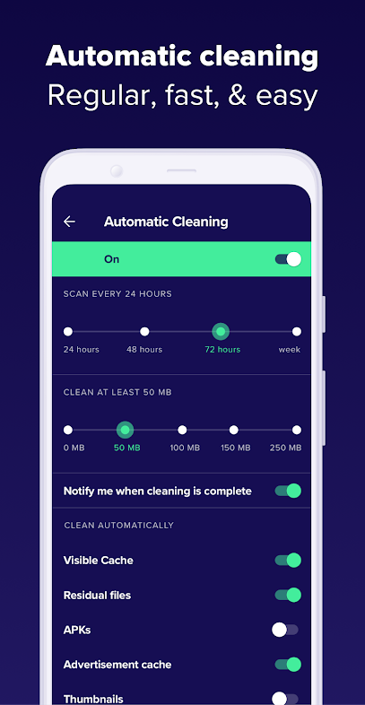 Avast Cleanup automtic