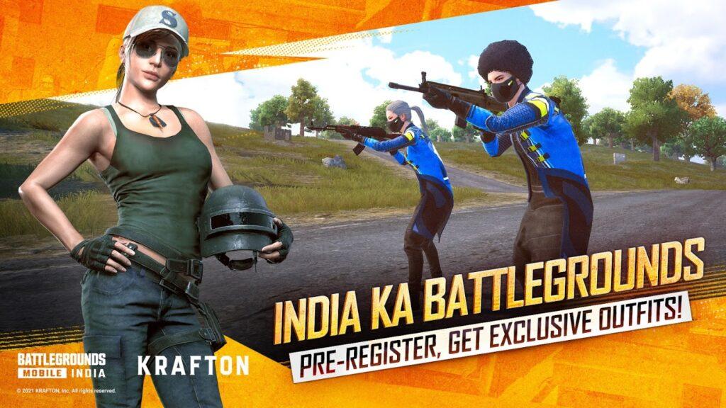 Battlegrounds Mobile India Mod Apk 2021