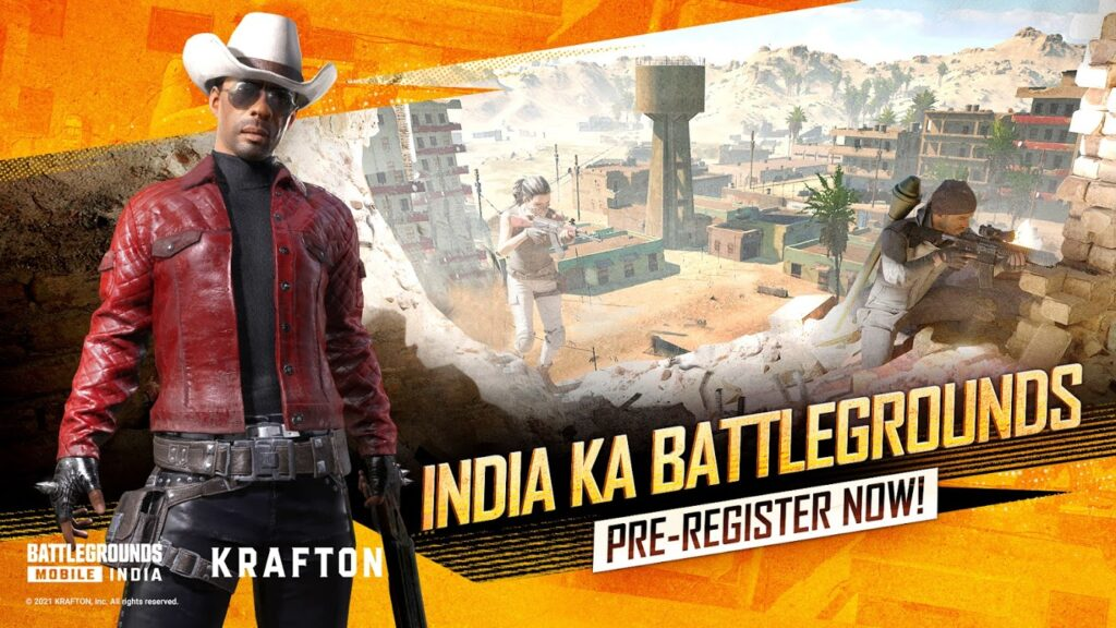 Battlegrounds Mobile India Mod Apk for android