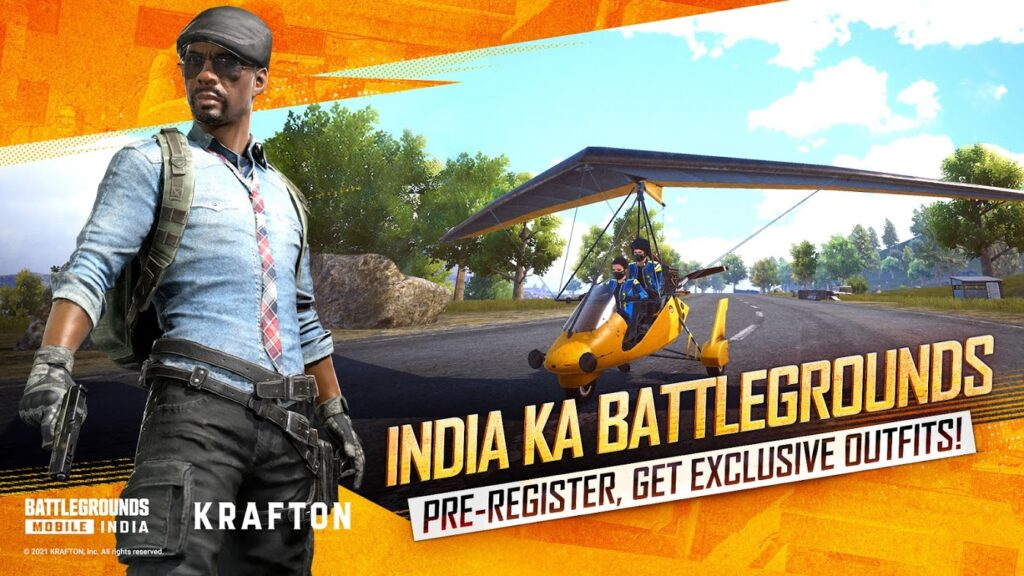 Battlegrounds Mobile India Mod Apk free