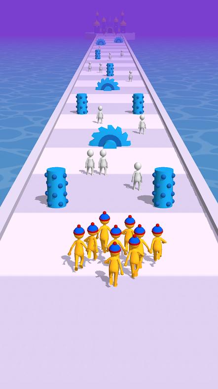 Join Clash 3D MOD APK free online